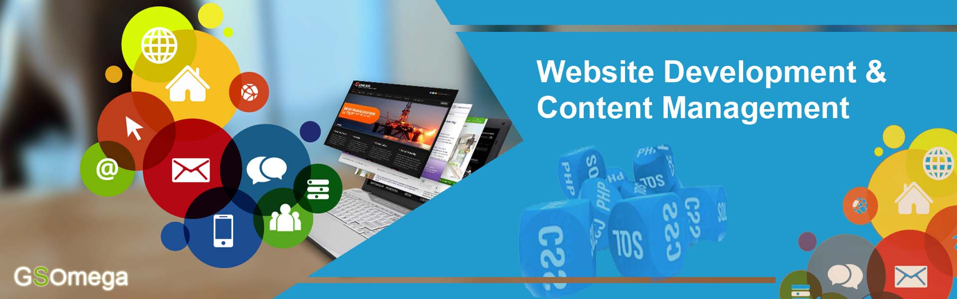 Website Development & Content Management